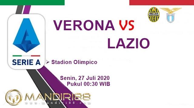 Prediksi Hellas Verona Vs Lazio, Senin 27 Juli 2020 Pukul 00.30 WIB
