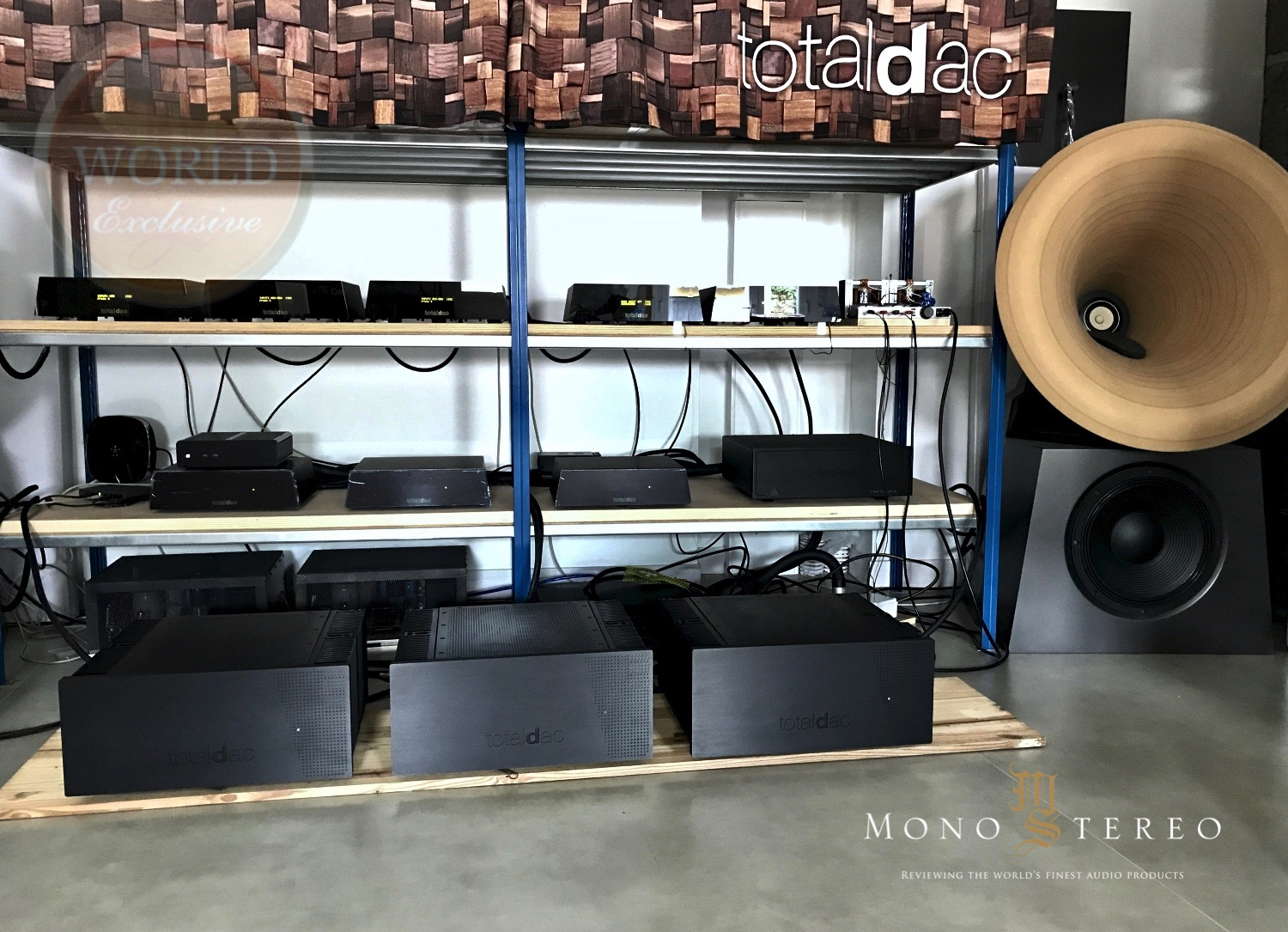 Mono and Stereo High-End Audio Magazine: First Totaldac Amp