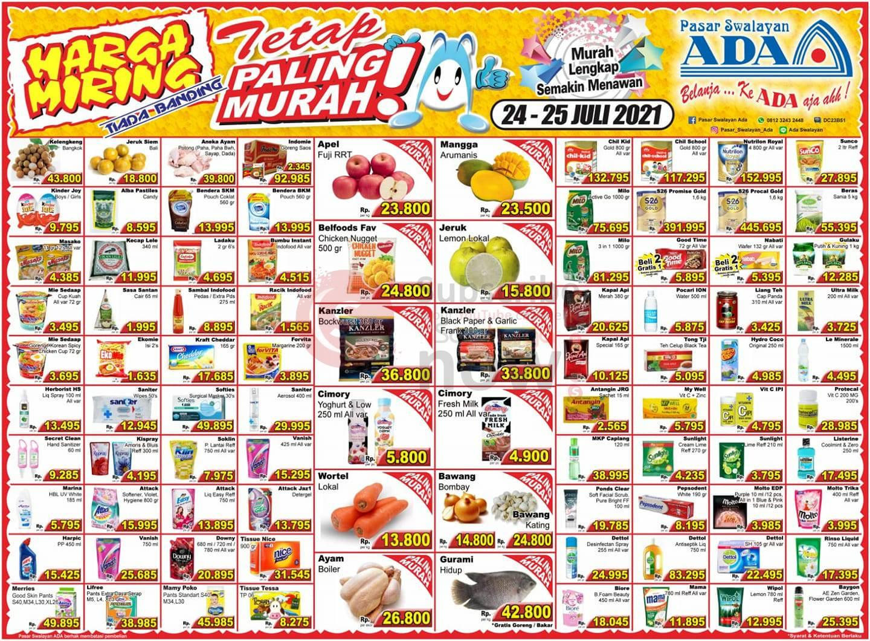 Katalog Promo ADA Swalayan Terbaru 24 - 25 Juli 2021