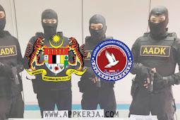 Permohonan jawatan di Agensi Anti Dadah Kebangsaan AADK - Terbuka 2019