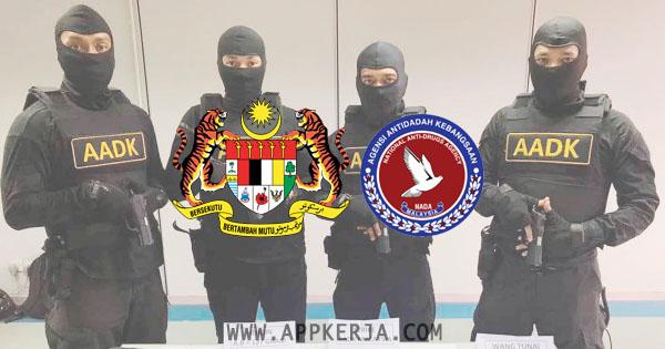 Permohonan jawatan di Agensi Anti Dadah Kebangsaan AADK