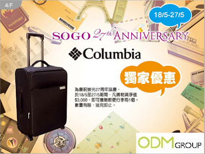 Brands That Run A Promotional Luggage Giveaway