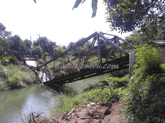 Detik-detik Penghancuran Jembatan Beringin - Cirebon