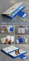 Easy Make-Up Clutch Tutorial