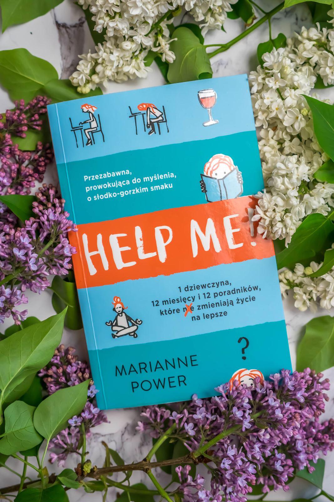 Help Me ksiązka w styli bridget jones recenzja opinia cena polskie wydawnictwa ksiązkowe blog z recenzjami