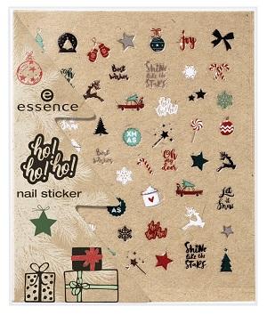 Edición Limitada de Navidad de Essence - Nail Sticker