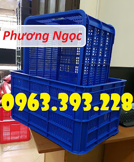 Sọt nhựa cao 31, sọt nhựa nan thẳng HS004, sóng nhựa công nghiệp 73