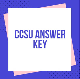 CCSU Answer Key