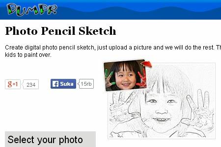 Situs Foto Jadi Sketsa Pensil Online