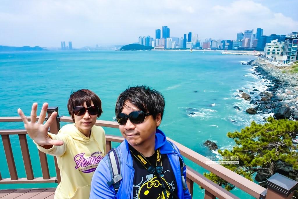 尾浦鐵路,釜山必玩景點,青沙浦紅白燈塔,松亭海水浴場