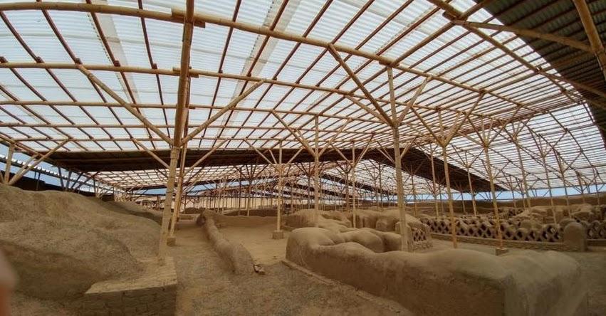 Monitorean de manera permanente estructuras del complejo arqueológico de Chan Chan ante fuertes lluvias