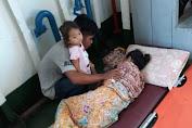 "Miris "" Dirujuk Ke Makassar, Penderita Kanker Ini Hanya Naik Travel Sewa"