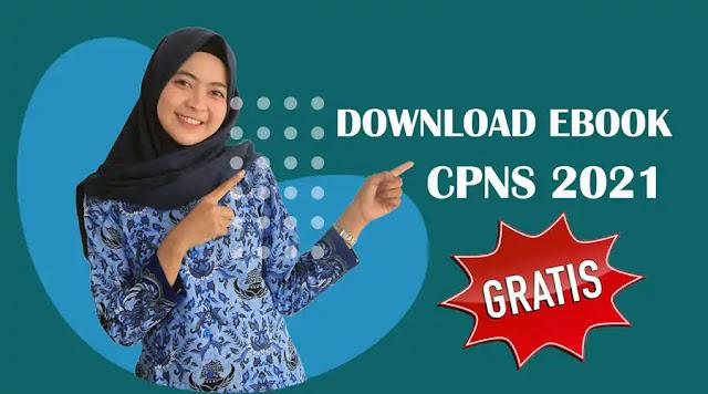 Download Ribuan Soal dari Ebook/Modul CPNS Terbaru 2021