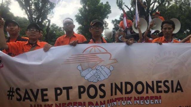 Serikat Pekerja PT Pos Ngadu ke Erick Thohir: Kami Sengaja Dibangkrutkan!