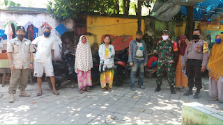 Bhabinkamtibmas Malimongan Patroli Dialogis Ajak Warganya Patuhi PSBB