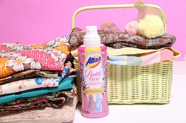 attack batik care, detergen murah bagus, detergen wangi dan lembut, detergen untuk batik, detergen untuk kebaya, abaya, chiffon