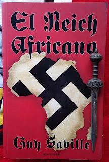 Portada del libro El reich africano, de Guy Saville