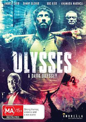 DVD Cover for Umbrella Entertainment's ULYSSES: A DARK ODYSSEY