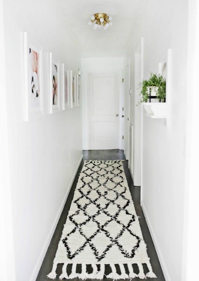 Pasillos - Como decorar un pasillo estrecho ...