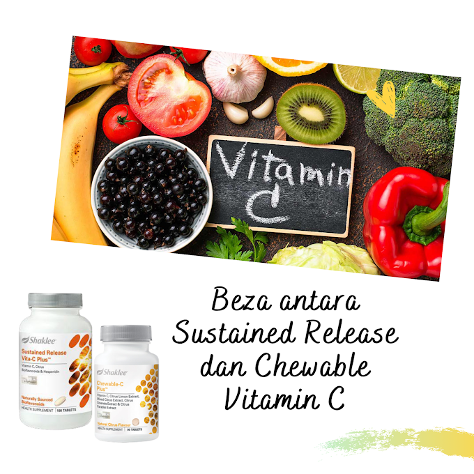 APA BEZA SUSTAINED RELEASE & CHEWABLE VITAMIN C SHAKLEE ?