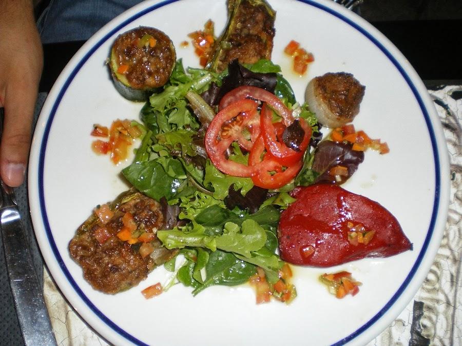 Verduras rellenas, un plato típico de Niza