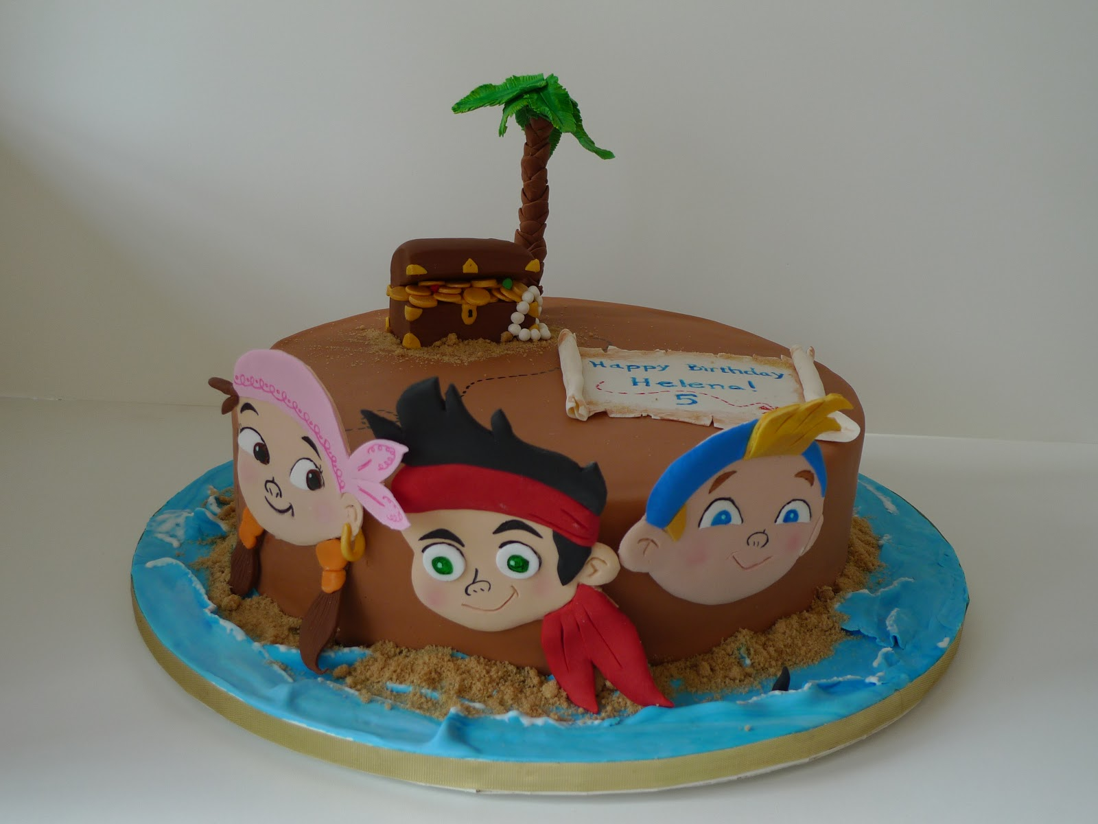 jake and the neverland pirates cake - photo #12