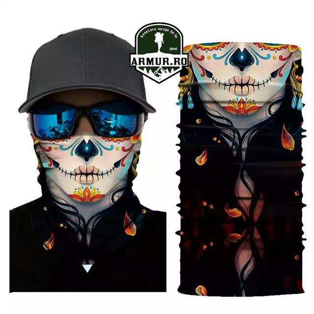 Bandana multifunctional cagula Dama Face Shield Masca
