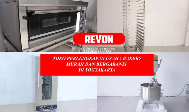 Toko Perlengkapan Usaha Bakery di Yogyakarta