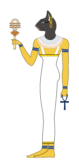 Ancient Egyptian Cat Goddess of the Home Bastet
