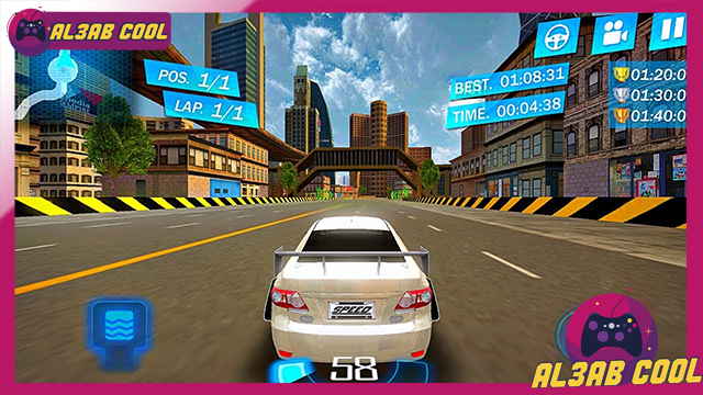تحميل لعبة Street Racing 3D MOD للأندرويد من الميديا فاير