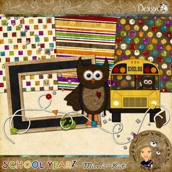 School YearZ: Mini-Kit by DeDe Smith (DesignZ by DeDe)