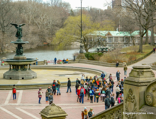 Fonte Bethesda, Central Park, Nova York