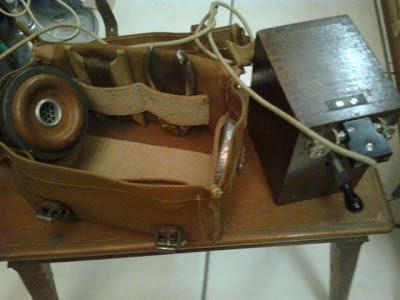 Telefono da campo - 1910