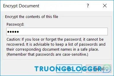 Cách đặt mật khẩu cho File PowerPoint để bảo mật dữ liệu