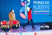 Gubernur Sultra Hadiri Pembukaan Munas, Presiden Jokowi Sampaikan Hal ini