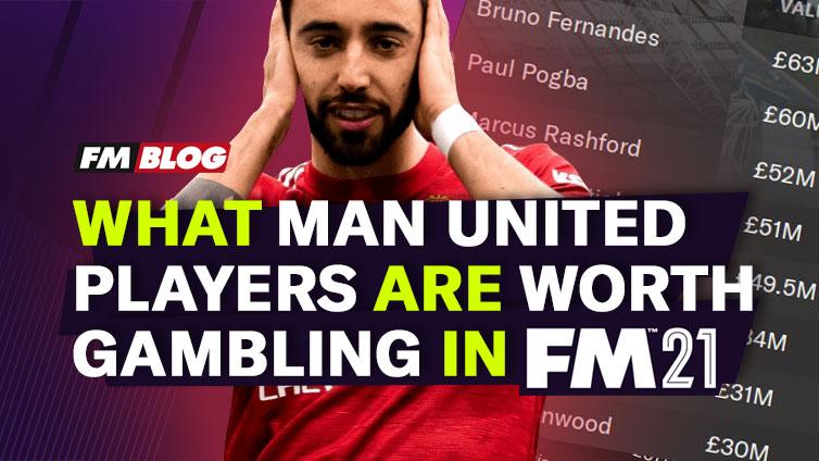 Football Manager 2021 Man Utd FM21