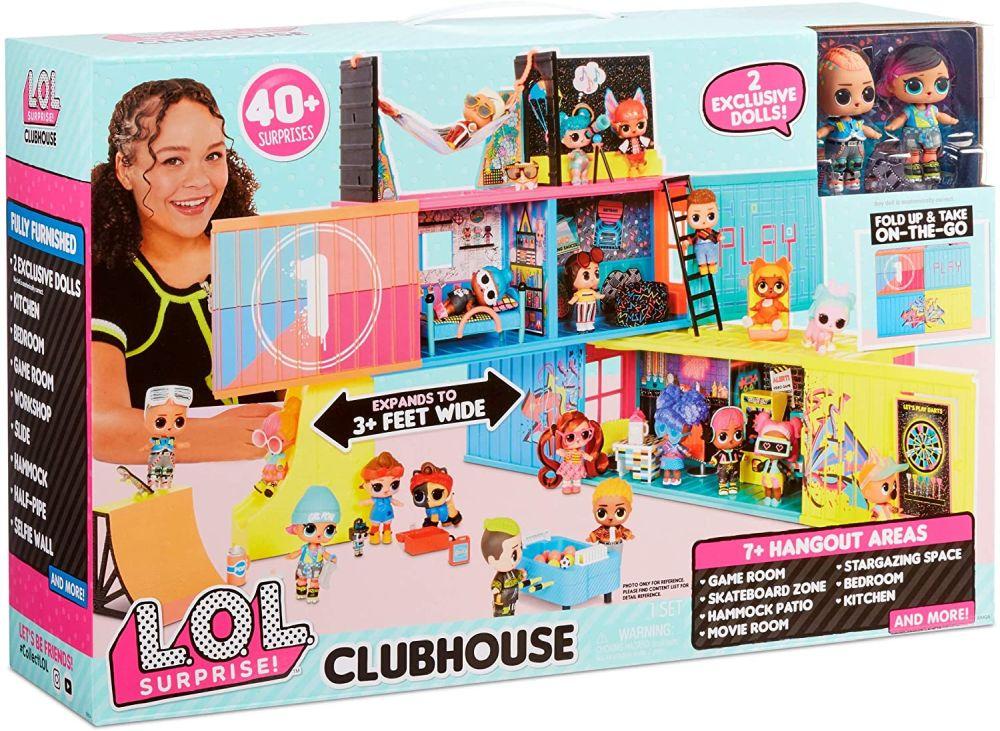 Клубный кукольный дом Лол Сюрприз 2020