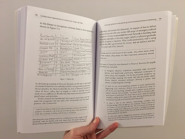 example pages from collaborative approaches to PDA