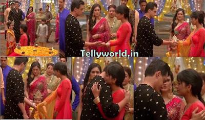 "Yeh Rishta Kya Kehlata Hai Episode Spoiler "" Naira-Kartik's Hug Naira Shouts On Kartik Janmashatmi Special ""."