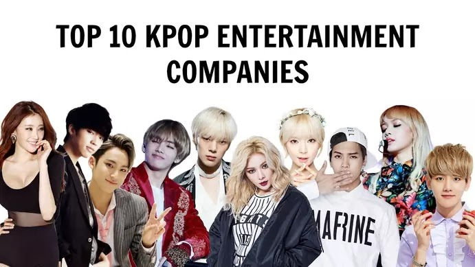 TOP 10] KPOP ENTERTAINMENT COMPANIES | All Their Artists - YouTube