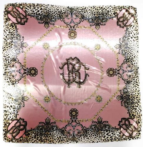Leopard Pink Silky Satin Scarves