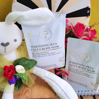 Masker Skinflair Whitening Plus Face and Body Mask