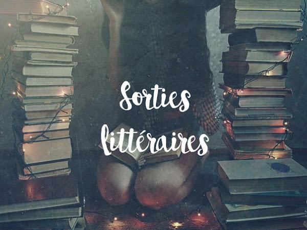 Sorties littéraires - Août 2019