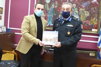 Συνάντηση Δημάρχου Καστοριάς με τον νέο Περιφερειακό Διοικητή Π.Υ. Δυτ. Μακεδονίας