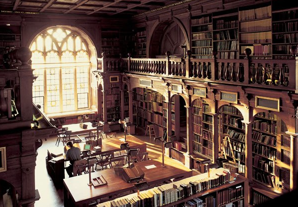 Bodleian Library at Oxford University Harry Potter Places to visit