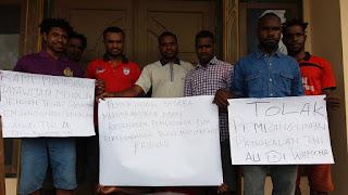 Mahasiswa Jayawijaya dengan Tegas Menolak Rencana Pembangunan Pangkalan Militer TNI AU di Wamena