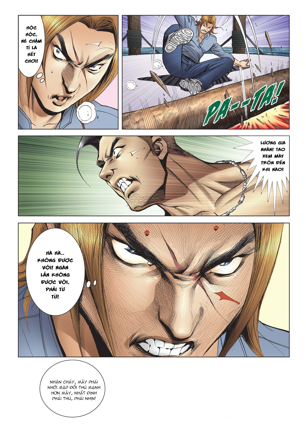 Người Trong Giang Hồ chapter 2137: tiền lộ nan hành trang 5