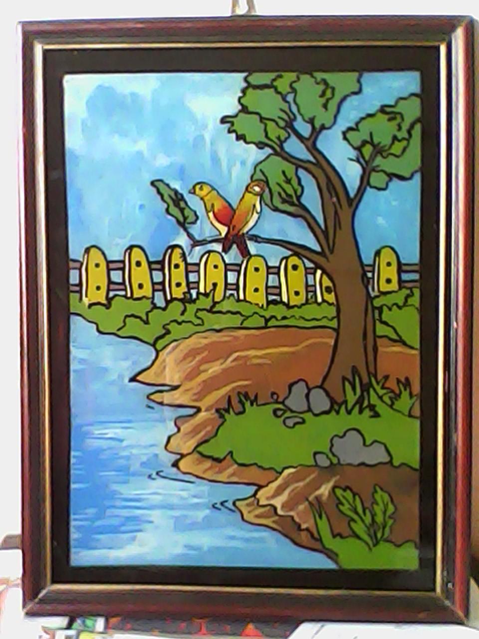 Lukisan Kaca Mbagiilmu