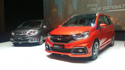 All New 2017 Honda Mobilio MPV Facelift