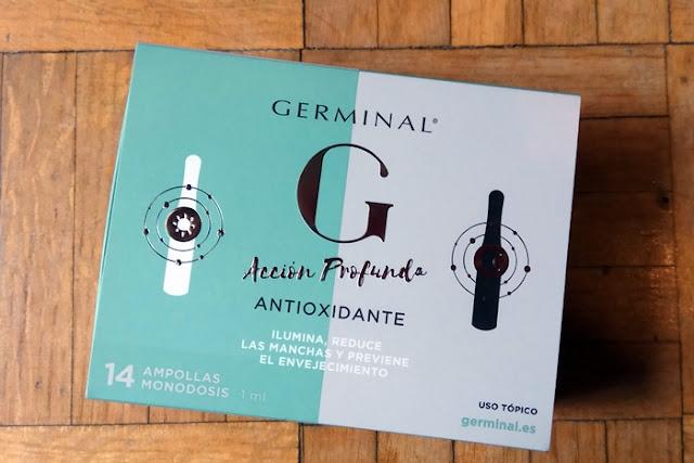 Germinal Accion Profunda Antioxidante pack 14 ampollas